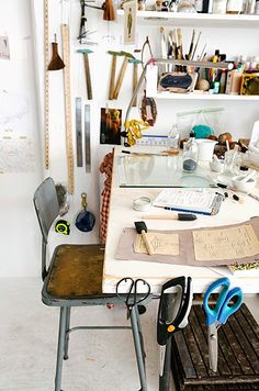 workspace that looks like it's actually being used :)