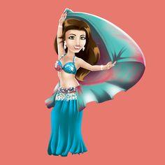 """""""Dançar é.... sensação de liberdade, de renovação plena, de sentir-se completa! Quando danço eu acrescento dias à minha vida!"""" Najlah Fareeda #centraldancadoventre #dancadoventre #bellydance #mascote #mascotedanca #mascotedancadoventre #frasedanca #frasedancadoventre"""