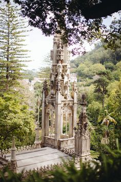We're marvelling at Quinta da Regaleira in Sintra, Portugal. This palace set amongst beautiful grounds was once a monastery and displays Gothic, Egyptian, Moorish and Renaissance architectural details. Have you discovered it?