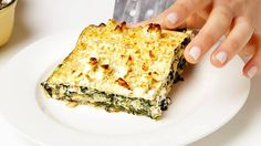 Passover is this week, and if you're running out of recipes to make without bread, here's a creative one for you! Epicurious has the recipe for matzah lasagna, and it looks delicious! This version is filled with spinach and feta, but you could certainly make your own rendition with any toppings you like. Enjoy!