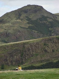 Scotland. King Arthur's seat. Been there, climbed that.