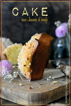 recette Cake moelleux aux jaunes d'oeufs Biscotti, Muffins, Deserts, Cupcakes, Cooking, Breakfast, Recipes, Food, Pound Cake
