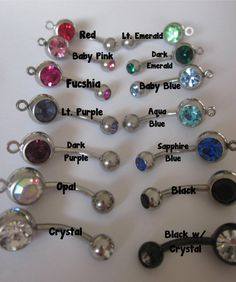 Best Bitches Mature Content belly button rings. by ForeverStamped