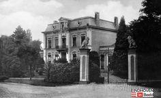 Villa Krayenhof, hoek Vestdijk en Ten Hagestraat, toen Langen Dijk en Kloosterdreef. Hier staat nu hotel Cocagne.