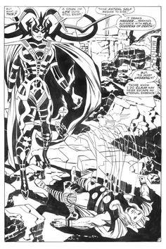 Jack Kirby: Thor, Hela