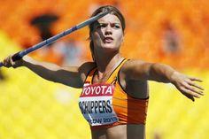 Schippers pakt brons op zevenkamp WK atletiek Dafne Schippers, Heptathlon, Javelin Throw, Champion, Action Poses, Badass Women, Sports Stars, Sports Photos, Summer Olympics