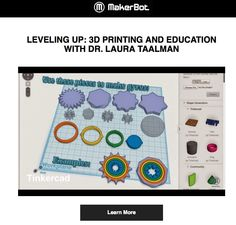 LEVELING UP: 3D PRINTING AND EDUCATION WEBINAR | MAKERBOT #3DPrinting #Manufacturing #STEM