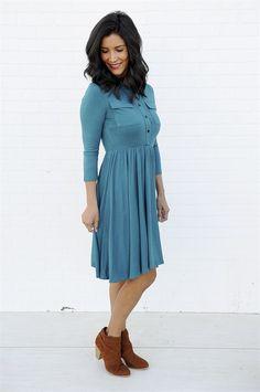 Front Pocket Swing Dress | 2 Colors