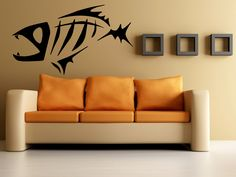 Fish Skeleton / Ocean Decor Wall Mural