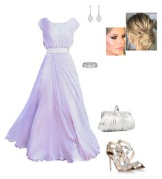 """""""Untitled #8572"""" by gracebeckett on Polyvore featuring Alexander McQueen, Jimmy Choo, Christian Louboutin, Blue Nile and Betteridge"""