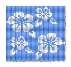 Double knitting pattern