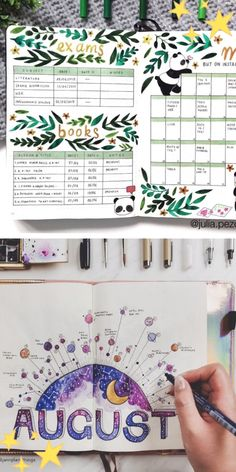 Bullet Journal School, Bullet Journal Weekly Spread, Monthly Bullet Journal Layout, Bullet Journal Month, Bullet Journal Notebook, Bullet Journal Themes, Bullet Journal Inspiration, Monthly Planner, Bullet Journal How To Start A Layout
