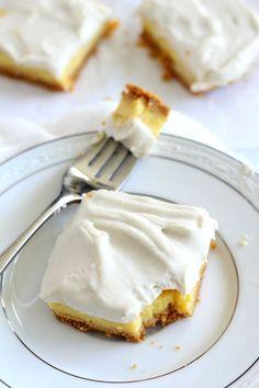 Triple Layer Paleo Lemon bars - gluten free, dairy free, and #paleo ...