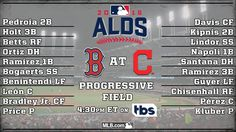 GAME 2 ALDS BOS @ CLE