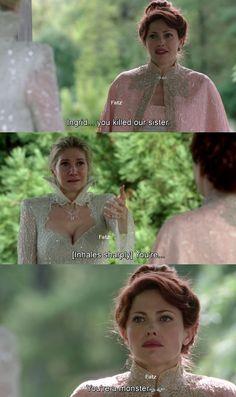 """""""You're a monster."""" Gerda - 4 * 7 """" Snow Queen."""""""
