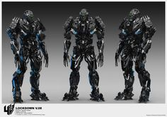Transformers 4 : Age Of Extinction Concept Design