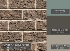 Morning smoke brown brick general shale behr ppg - Chestnut brown exterior gloss paint ...