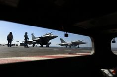 FRANCE RETALIATES! French Jets target ISIS in Raqqa