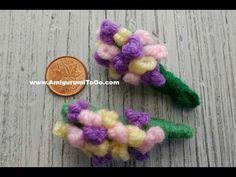 Ravelry: Mini Bouquet of Flowers pattern by Sharon Ojala Cute Crochet, Crochet Dolls, Knit Crochet, Crochet Bouquet, Crochet Flowers, Ravelry, Sharon Ojala, A Hook, Crochet Videos
