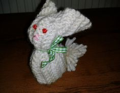 Knitted Bunny Boy :)