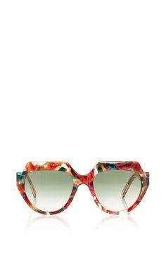 d4b44406c3 El Morocco Oversized Sunglasses by Zanzan Now Available on Moda Operandi  Discount Sunglasses