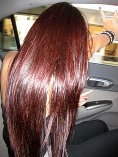 Cherry Coke Red and Dark Brown Hair... Basically what my hair looks like now ;)