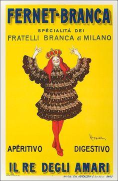 #Fernet #Branca poster manifesto #vintage #original #Milano www.posterimage.it