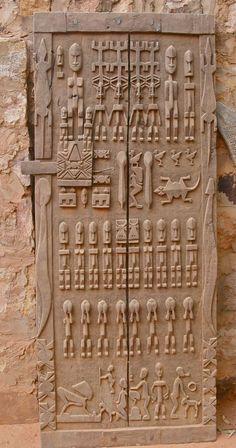 Африканская резьба по дереву: двери с историей: публикации и мастер-классы – Ярмарка Мастеров
