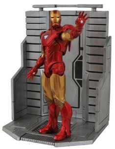 Marvel Select Avengers - Iron Man * Learn more by visiting the image link.(It is Amazon affiliate link) #LoveForMarvel