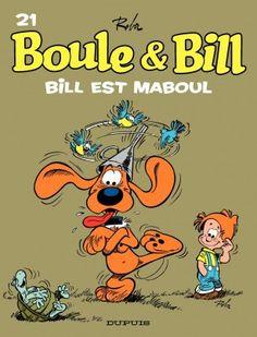 Couverture-Boule et BillT21 - Bill est maboul -
