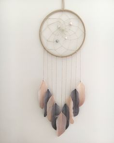 A personal favorite from my Etsy shop https://www.etsy.com/ca/listing/521102080/7-kate-spade-inspired-dream-catcher