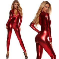 Hot Colors Metallic Lycra Zentai Discowear Zip Wear Catsuit Bodysuit!!! High quality and fast shipment. Perfect for wear. How could you keep off it? Come and Buy right now and you can get a special discount.  Whole Set: