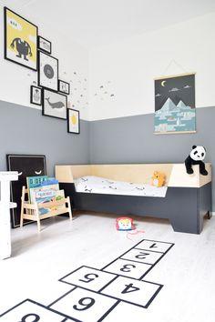Eli's nieuwe peuterbed van Little Dreamers - +++++ Bébi szoba - Kinderzimmer