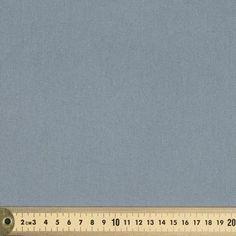 Plain Mid Drill Fabric Mid Grey 108 cm