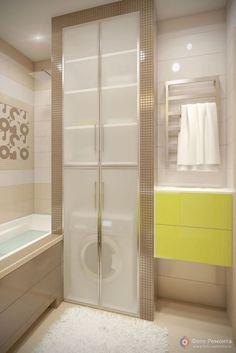 62 Trendy Bathroom Storage Washing Machine Cupboards (With images) Bathroom Doors, Bathroom Storage, Bathroom Interior, Bathroom Closet, Bathroom Cabinets, Large Bathrooms, Small Bathroom, Master Bathroom, Ideas Baños