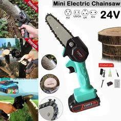 【Holiday Pre-Sale 50% OFF】 - Rechargeable 24V Lithium Mini Chainsaw – ModernIndigo Mini Chainsaw, Electric Chainsaw, Cool Gadgets To Buy, Clever Gadgets, Tree Bark, Sale 50, Wood Cutting, Cool Things To Buy, Shopping