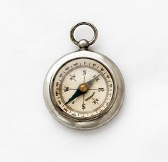 1930s German Compass Pendant / Pocket Watch by TheCompassCollector