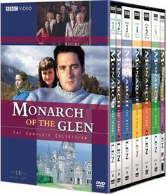 Monarch of the Glen: The Complete Collection at BBC Shop Slip away to the Scottish Highlands and Glen ogle House for love, laughter, drama, chaos and suspense with the MacDonald family and friends, from Archie, Molly and Hector to Katrina, Golly and Duncan.