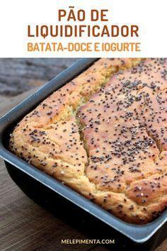b95f7eb28f9 Pão de batata-doce e iogurte - Faça na sua casa a receita desse delicioso