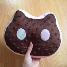 Steven Universe COOKIE CAT plush SMALL size by SpaceInvader