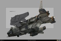 Transverse Fighter Ship by Steve Wang on ArtStation. Spaceship Art, Spaceship Design, Concept Ships, Concept Cars, Science Fiction, Starship Concept, Future Weapons, Sci Fi Ships, Futuristic Cars