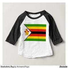Zimbabwe, flag infant T-Shirt