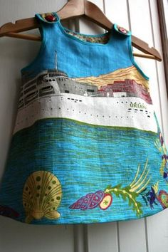 Frocktober - day 6...the teatowel dress is back! ▽▼▽ My Poppet : your weekly dose of crafty inspiration