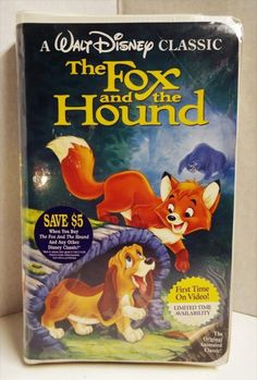 The Fox and the Hound VHS, 1994, Black Diamond Edition, Sealed