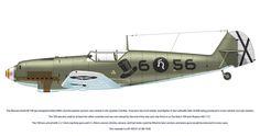 Messerschmitt Bf 109 D-1 6-56