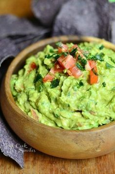 This is one amazing guacamole recipe that will have you reaching for a spoon instead of chips! | from willcookforsmiles.com