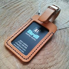 A ID/pass holder. (could also work as a baggage tag)