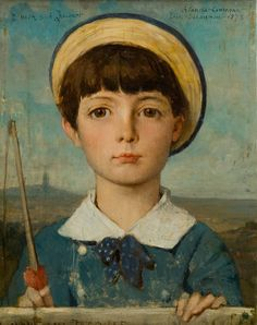 Jules-Élie Delaunay | Portrait of Jacques Bizet, 1878