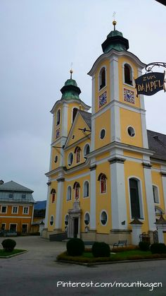 beautiful #baroque-architecture church in St. Johann in Tirol - Austria
