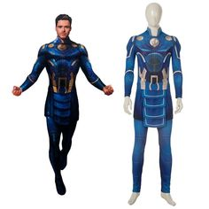 This 2021 Eternals Ikaris Cosplay Costume is composed of jumpsuit, belt. It is main made of comfortable and elastic roma cloth. Well made and screen accurate design. Welcome to buy it with free shipping for your Halloween.